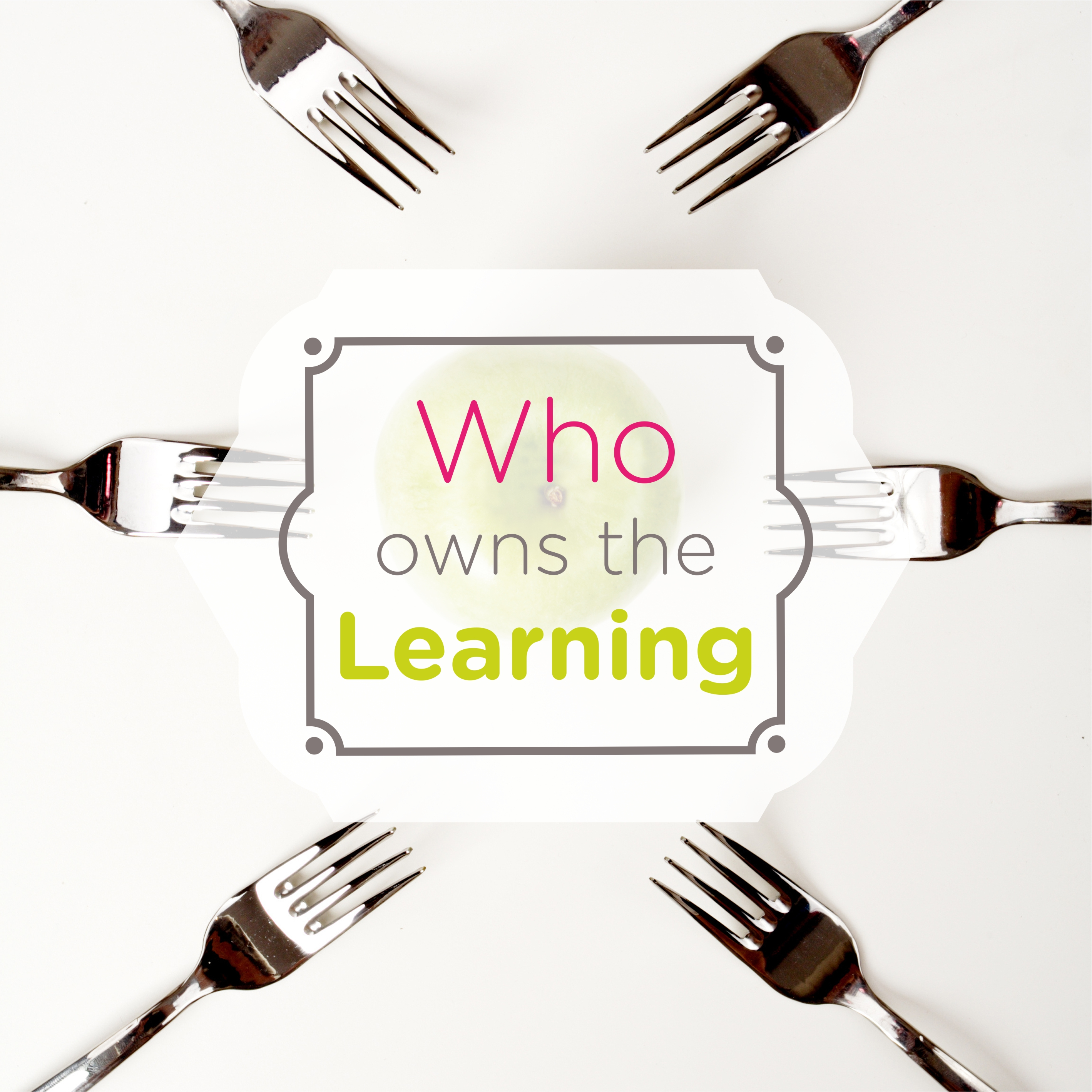 """Who owns the learning? Who owns your learning, more precisely? Your learning, as a process oriented towards whatever objective you currently have. Of course, the first intention of an answer would be """"I do, of course"""". Still, if we give some moments of reflection we might find that the apparent simplicity of this question get us to the complexity of the answer. As our learning, even if we do not have a specific objective, is highly influenced in different ways and amplitudes by other factors. In their recent book """"Creating a Learning Society - A New Approach to Growth, Development, and Social Progress"""" the authors J. E. STIGLITZ, and B. C. GREENWALD describe the """"major determinants of learning: (1) learning capabilities; (2) access to knowledge; (3) the catalysts for learning; (4) creating a creative mindset—the right cognitive frames; (5) contacts—people with whom one interacts—which can catalyze learning, help create the right cognitive frame, and provide crucial inputs into the learning process; and (6) the context for learning."""" (STIGLITZ, J. E., B. C. GREENWALD, Creating a Learning Society - A New Approach to Growth, Development, and Social Progress, Columbia University Press, 2014). If we take the main actors involved in the learning process The learner The educator (teacher, professor, trainer, facilitator, coach, manager, leader, mentor) The group (class, team, organization) The society we may find various levels of the learning process ownership, levels that are dynamic, moving with the velocity of change, which ultimately lead to a greater need for self-learning."""