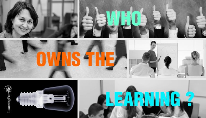 Who owns the learning? (part 2)